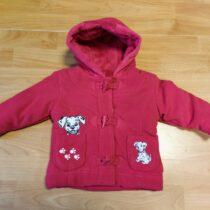 Zimní, fleece kabátek Disney sDalmatinem