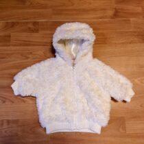 Zimní, chlupatá bunda Cherokee