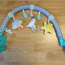 Plyšová hrazdička schrastítky Taf toys