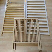 Dětská, dřevěná postýlka Cosing 60x120cm