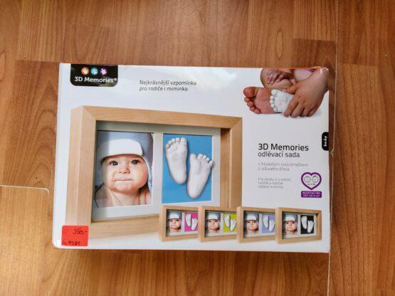 Odlévací sada 3D Memories