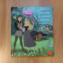 Kniha – Šípková Růženka a čarovná květina