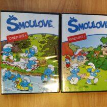 DVD Šmoulové 2ks