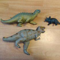 Set Dinosaurů 3ks