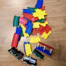 Plastová vlaková dráha svláčky