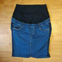 Těhotenská riflová sukně C&A