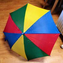 Dětský barevný deštník