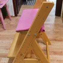 Dřevěná rostoucí židle Gazel
