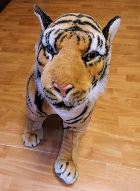 Velky plyšový tygr