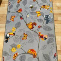 Dětský koberec se zvířátky