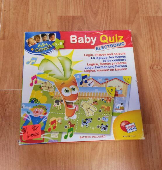 Společenská hra Baby genius elektro kvíz