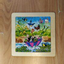 Dřevěné puzzle Bino – Krtek