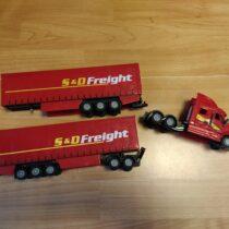 Kamion + 2 x vlek