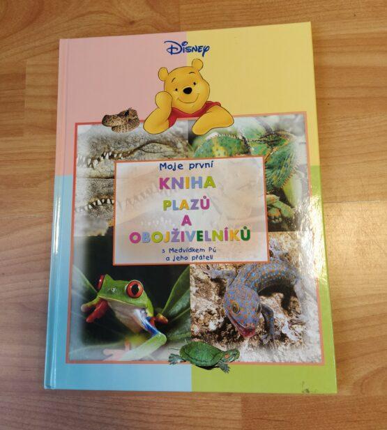 Moje první kniha plazů a obojživelníků sMedvídkem Pú a jeho přáteli