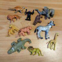 Set zvířátek Safari, 11ks
