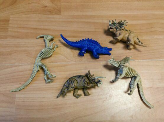 Set dinosaurů, 5ks