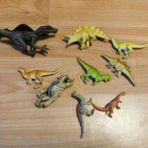 Set mini dinosaurů, 9ks