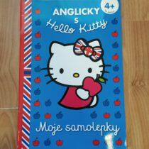 Anglicky sHello Kitty se samolepkami