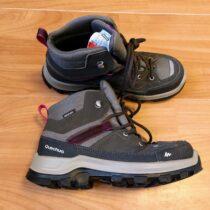 Trekové kotníkové boty Quechua