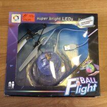 Létající disco koule sLED Fluorescenční sinfračerveným senzorem