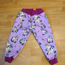 Softshellové kalhoty sjednorožcem