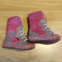Kotníkové , kožené boty skožíškem KTR
