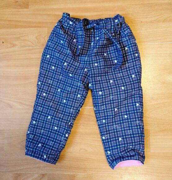 Zateplené kalhoty Ergee
