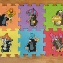 Pěnové puzzle – Krtek