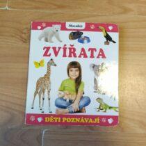 Kniha/leporelo – Děti poznávají zvířata