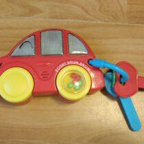 Zvukové chrastítko auto sklíči Carousel