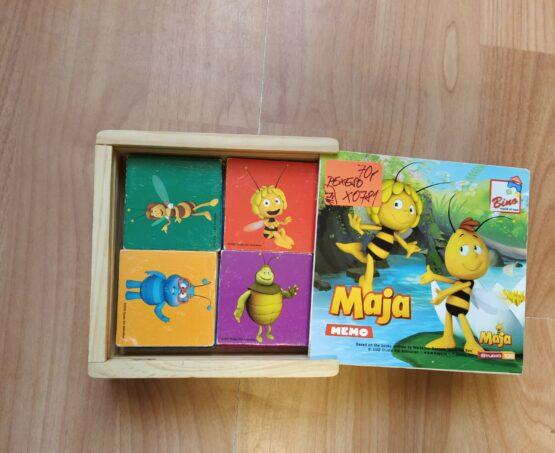 Dřevěné pexeso Bina – Mája