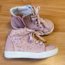 Kotníkové kožené boty Lasocki Kids