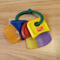 Chrastítko/kousátko – Klíče