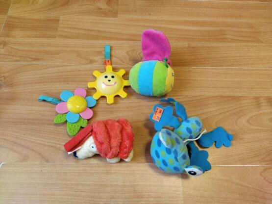 Set plyšových hraček, 5ks