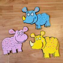 Set dekorativních zvířátek