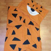 2-dílné bavlněné povlečení na dětskou postel – Tygr