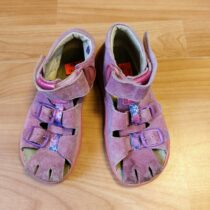 Kožené sandále Richter
