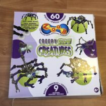 Stavebnice ZOOB Creapy glow Creatures