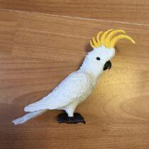 Kakadu figurka papouška