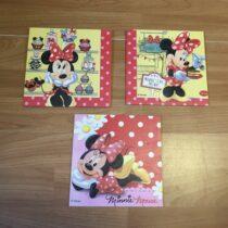 Sada tří obrázků Minnie