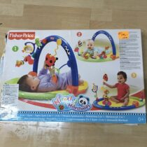 Hrací deka Fisher-Price Miracles & Milestones 3-in-1