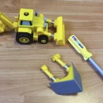 Bořek stavitel – traktor sradlicí