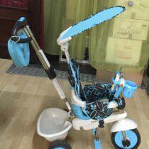 Tříkolka Dream Team Blue Touch Steering 4v1 smarTrike modro-šedá od 10 měsíců