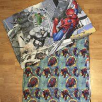 Bavlněné 2 – dílné povlečení Spiderman na velkou postel