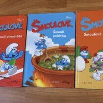 Sada knih – Šmoulové, 3ks