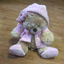 Plyšový Medvídek vžupanu