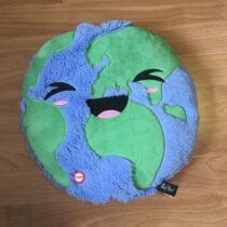 Svítící dekorační polštářek – Zeměkoule