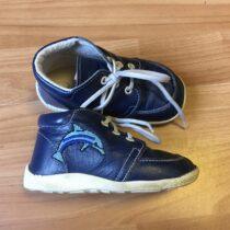 Kožené boty Beda sdelfíny