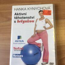 DVD Aktivní těhotenství sbetynkou, Hanaka Kynychová