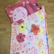 Bavlněné 2 – dílné povlečení Peppa na velkou postel
